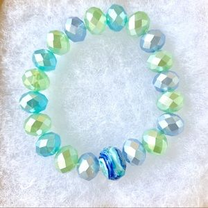 beautiful handmade stretch bracelets
